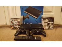 PS3 slimline with accessories and some great games