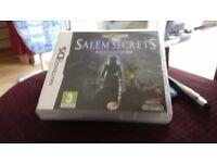 salem secrets witch trials of 1692 ds game