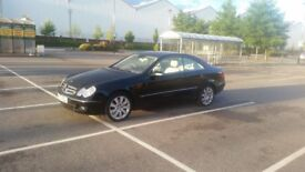 Mercedes clk 320 cdi Elegance ( ONLY 23k Miles as new )