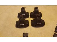 Thule rapid system Kit 754 with Keys for roof bars
