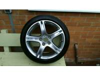 Lexus is200 alloy wheel and Bridgestone potenza tyre