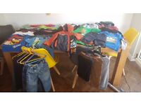Boys bundle of clothes size 4-5 and 5-6 years