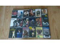 18 x rod stewart cassettes