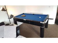 6ft pool/dining/poker table