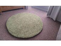 Next green circular round rug