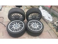 Bmw m sport wheels and tyres