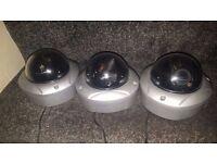 CCTV BALL CAMERAS X4
