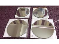 4 Mirror plates