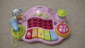 Vtech musical DJ - pink