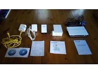 Various home wifi / broadband devices.