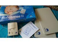 babysense 2 infant respiratory breathing monitor