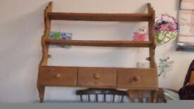 Pine shelf/dresser top
