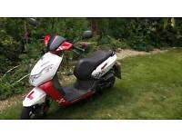 Peugeot Kisbee sportline 50cc scooter