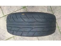 Pair of Yokohama advan AD07 175 55 16 80w car tyre