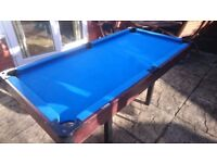 BCE 6ft Pool Table ( no legs)