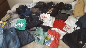 HUGE BUNDLE OF BOYS CLOTHES 11 12 13 14 years Nike Gap Next Le coq sportif M&co all modern excellent
