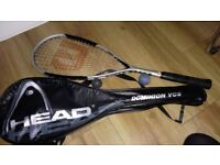 Wilson squash racket in good condition