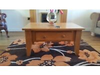 Rug brown and orange 120cm x 70cm