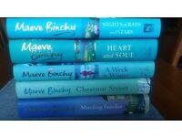 Womens books - Maeve Binchy hardbacks