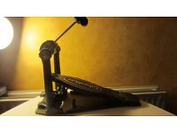 proffesional bass single drum pedal doble chain