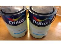 5 X 2L DULUX MATT CEILING AND WALL PAINT IN WILLOW TREE