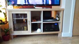 Birch sideboard/TV unit