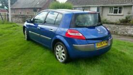 Renault Megan 1.9dci 1 years mot £1150 may ex for 7 seater + cash