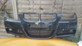 3 SERIES - FRONT BUMPER + GRILLS - E90 / E91 - BMW