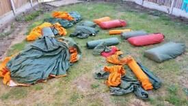 Job lot of Vango Force 10 tents