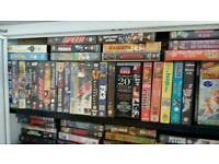 Vhs videos horror martial arts pre certs ex rentals etc