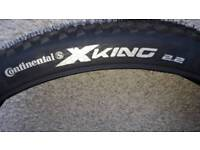 Continental x king 27.5 2.2 tyres