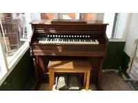 Hamilton piano company Harmonium Organ