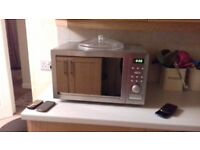 Microwave combination oven