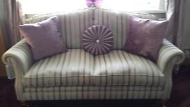 Laura Ashley Large 3 and 2 seater sofas for sale £700