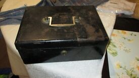 OLD HEAVY METAL CASH BOX