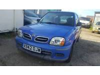 NISSAN MICRA 3 door, 1.0 petrol, mot, good runner, cheap car