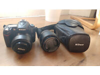 Nikon D90 18-55 mm lens and 18-105 mm lens
