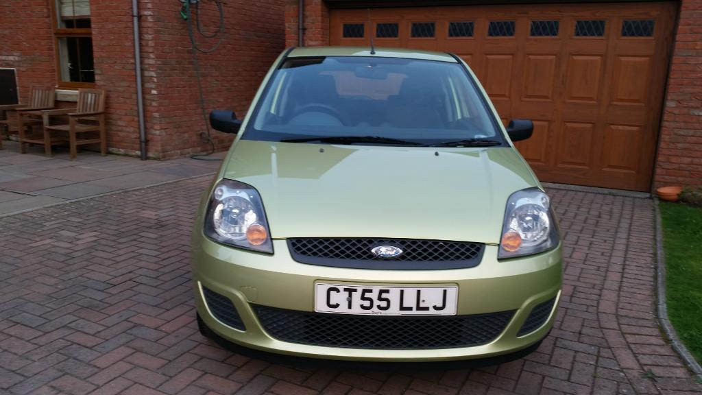 Ford Fiesta Sublime Green Paint Colour