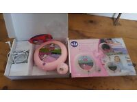 "Fabulous ""Kidsleep"" Pink ""Dancing Cow"" Night Light And Alarm Clock £8 Islington/Dalston"