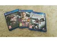 Ps4 game bundle (all 3 )