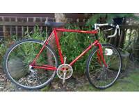 Old raleigh ace road bike.