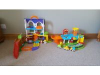 Vtech toot toot discovery house and garage
