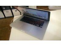 "APPLE MACBOOK PRO - OSX 10.12.2, 16GB, 2,2 GHz Intel Core i7, 15.4"" (German)"