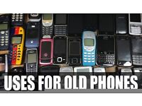 Wanted free unwanted mobile phones
