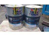 Dulux Trade Diamond Matt paint 5L×2 in Wiltshire white