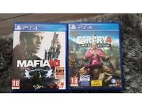 Ps4 games mafia 3,Far cry 4