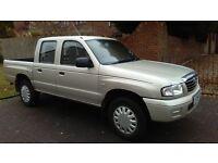 mazda b2500 turbo diesel pickup,06 registration,2.5 turbo diesel