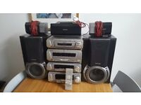 TECHNICS HOME CINEMA SYSTEM SA-EH750/ 205 WATT