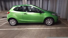 2010 (59) Mazda 2 1.3 TS 3dr A/C Spirited green