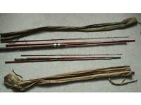 Vintage fly fishing rods